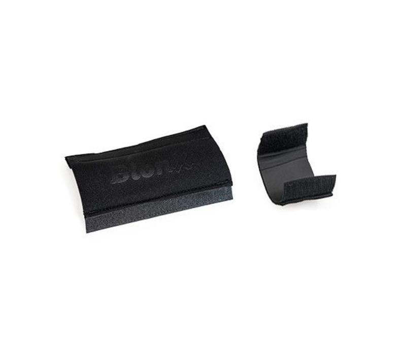 BionX, Velcro set, 1x 50x100mm and 1x 50x50mm, black