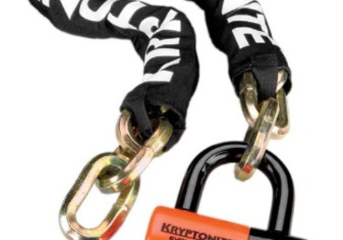 Kryptonite Kryptonite New York Chain 1210 and Evolution Disc Lock: 3.25' (100cm)