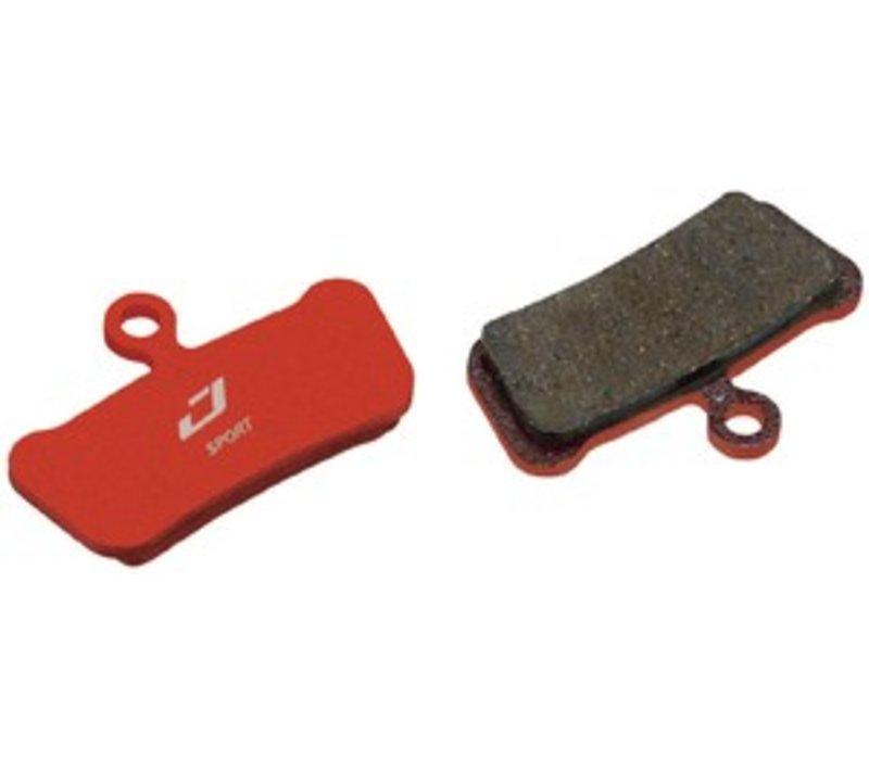 Jagwire Semi-Metallic Disc Brake Pads for Magura® MT8, MT6, MT4, MT2