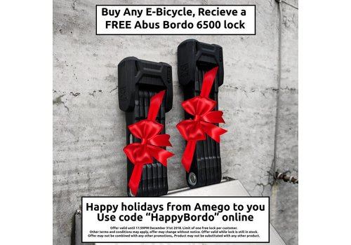 Amego Free Abus Bordo 6500 (With E-Bicycle Purchase)