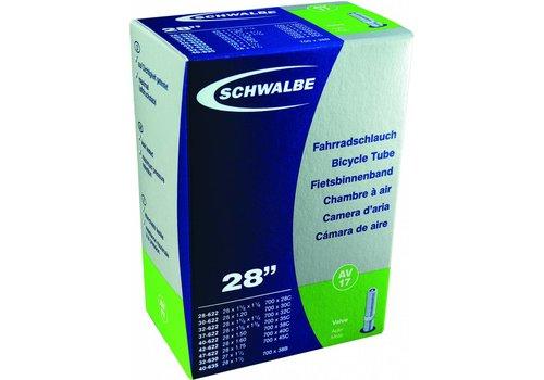 """Schwalbe Schwalbe Standard Tube 26""""x1.50-2.50"""" Schrader Valve 40mm Length"""