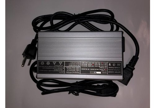 Charger Lithium 48V 3A LiFe P04 Silver (Std. 3 Prong) 58V output