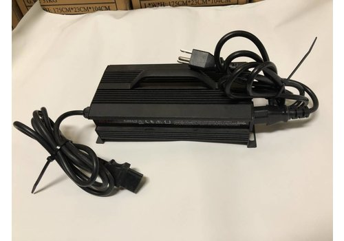 Charger Lithium 48V 3A LiFe P04 Black Case (Std. 3 Prong) 58V output