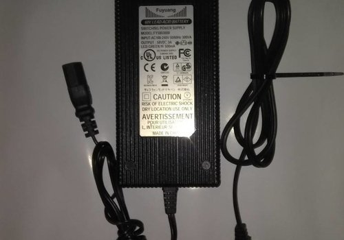 Charger 60V 3A Lead Acid Used (Std. 3 Prong )