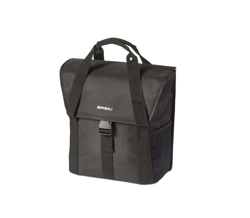 Basil, Go Single Bag, Single bag, Solid Black