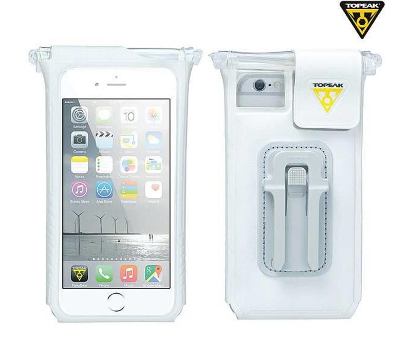 "Topeak Smartphone Drybag Fits up to 6"" Phone, White"