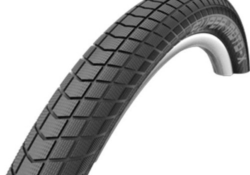 Schwalbe Schwalbe Super Moto-X, Tire, 27.5'', 2.40, Wire, Cmpund: Dual, Tech: GreeOnGuard, SnakeSkin, TPI: 67, PSI: 30-55, 1125g, Black
