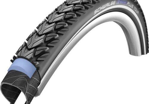 Schwalbe Schwalbe Marathon Plus Tire 26 x 1.75W, SWB Black