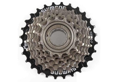 Shimano, MF-TZ20, 6 sp freewheel, 14-28T