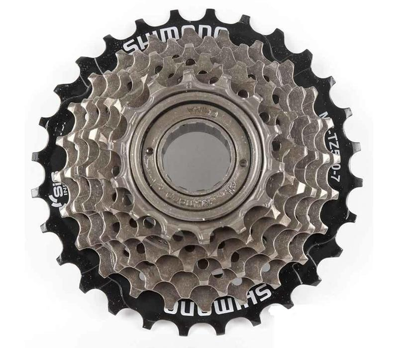 Shimano, MF-TZ20, 6 sp freewheel, 14-28T