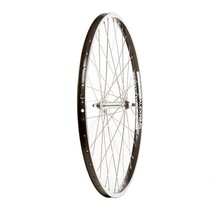 Front Wheel, 26'' Alex DM-18 RIm Black, HB-M475 Disc Hub Black, Spokes X 36, QR