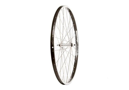 Front Wheel, 26'' Alex DM-18 RIm Black, HB-M475 Disc Hub Black, Spokes X 36, QR