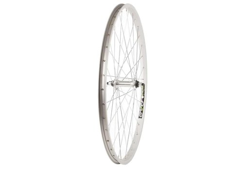 "Front Wheel 26"", 36H, Silver, Single Wall Evo E Tour 19, Nutted, Stainless Steel Spokes"