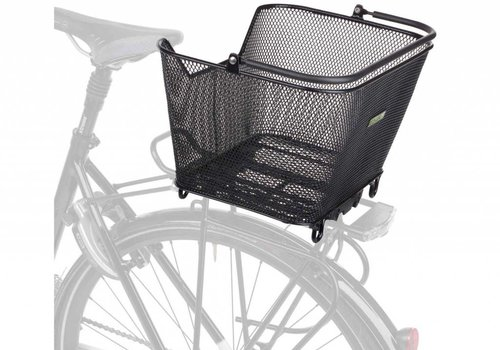Racktime Racktime, Bask-It, rear basket, black (Elby, Stromer)