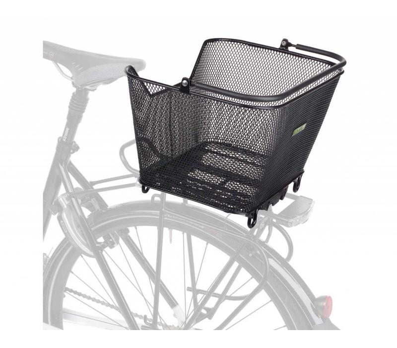 Racktime, Bask-It, rear basket, black