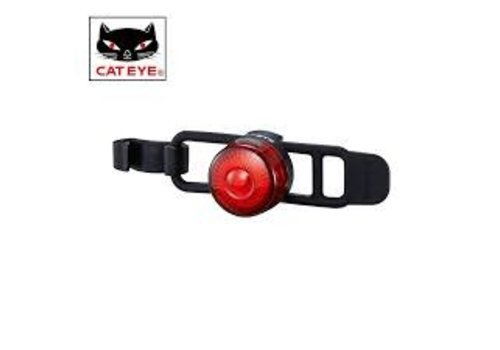 Cat Eye, Flashing light, Rear, Chrome/Black