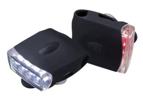 Topeak Topeak Highlite Combo USB Light Set - Black/Black