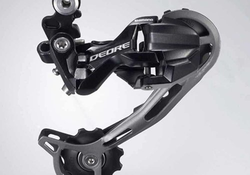 Shimano, Deore RD-M592, Rear derailleur, 9sp., Shadow, SGS