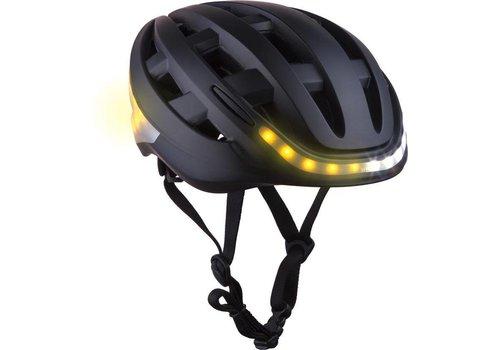Lumos Lumos, Kickstart,Helmet, Charcoal Black, Universal