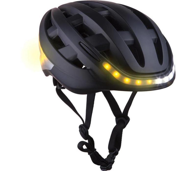 Lumos, Kickstart, Helmet, Anthracite Black