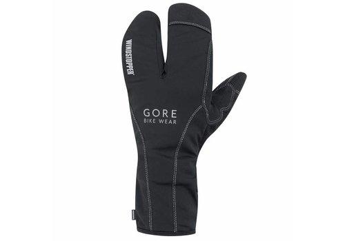 Gore Bike Wear, Road WS Thermo Split Gloves, (GROADE9900), Black