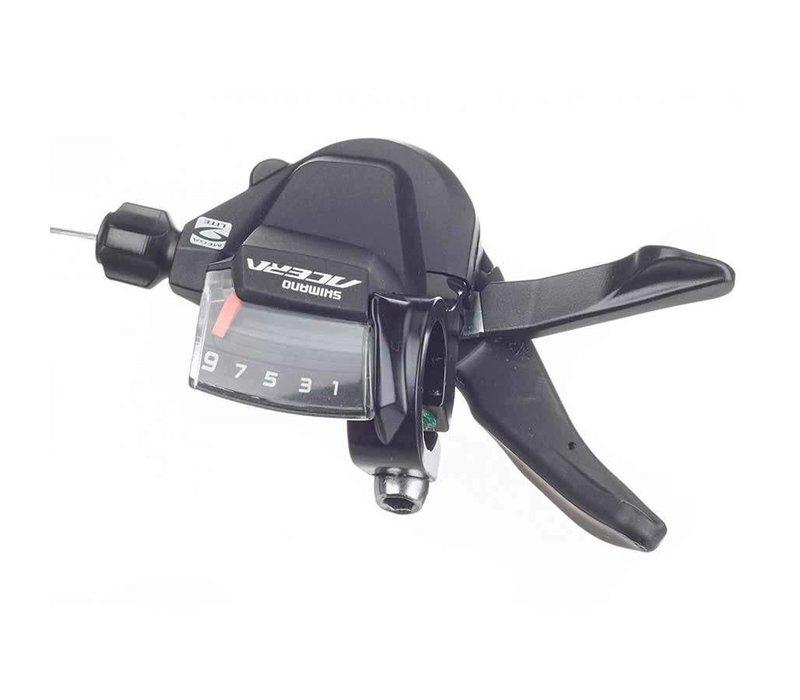 Shimano, Acera SL-M3000, Shift lever, 9 sp., rear