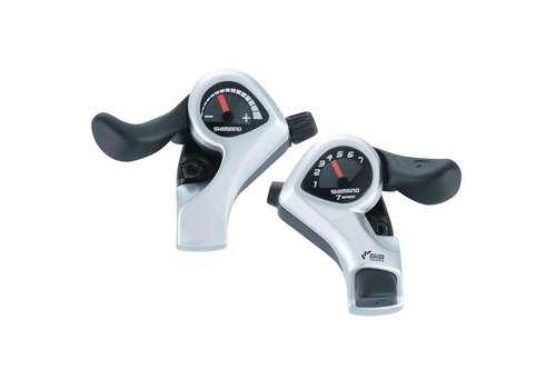 Shimano, Tourney SL-TX50, Shift lever, 7 sp., rear