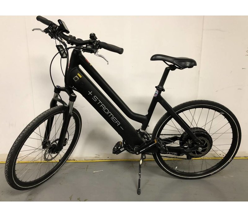 "Used Stromer V1 Elite Black Comfort 18"" Used #6397, 1400 kms, No Battery"