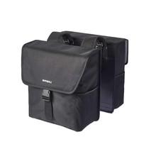Basil, Go Double Bag, Double bag, Solid Black