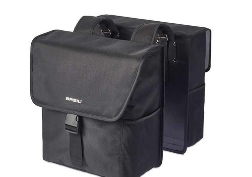 Basil Basil, Go Double Bag, Double bag, Solid Black