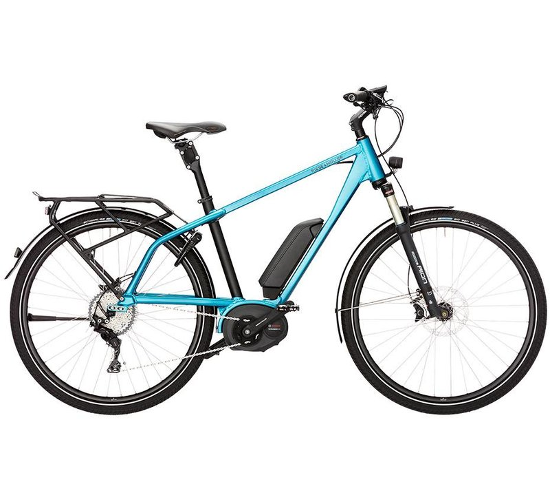 Riese & Muller Charger Touring 2018 Size 46cm, Azure Blue Metallic, Dual Battery 1000WH