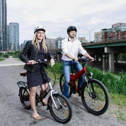 Watch this Tedx Talk on how e-bikes are the way of the future.