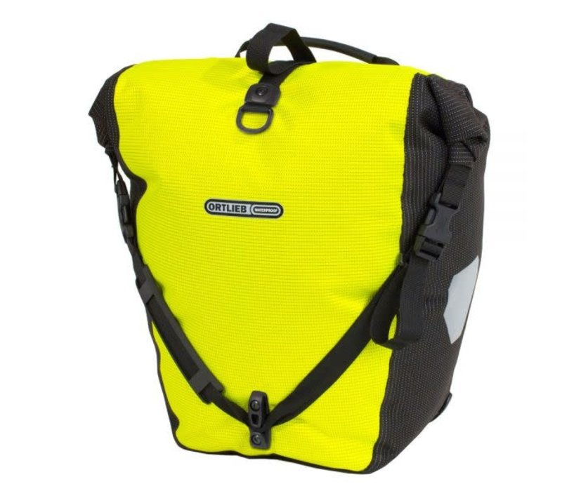 Ortlieb Back Roller High Visibility Reflective QL2.1Pannier, Single, 40L