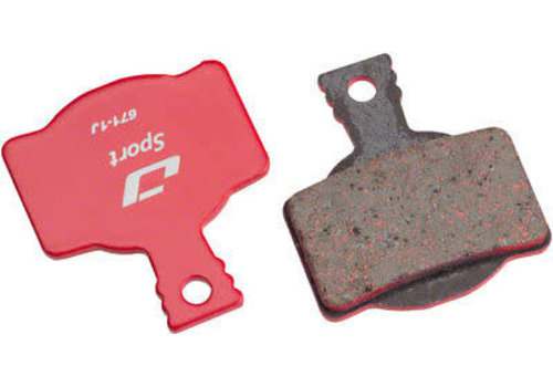Jagwire, Pro Semi-Metallic, Disc Brake Pads, Shape: Magura MT8/Campagnl H11, Semi-Metallic