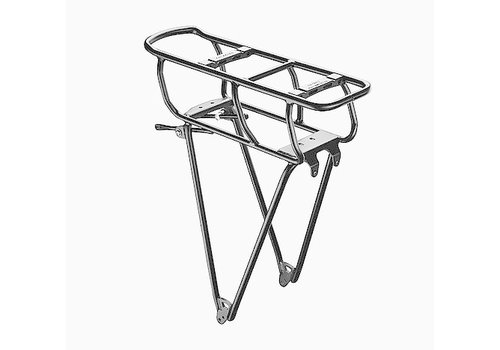 BionX Racktime Ebike Carrier silver