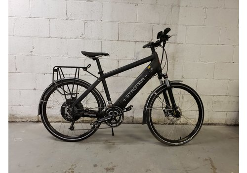 "Stromer Demo Stromer V1 Elite Black 18"" Rack & Fenders"