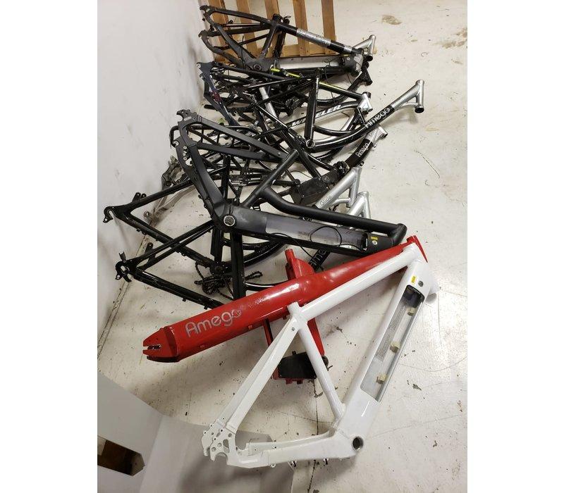 15 Scrap Bike Frames