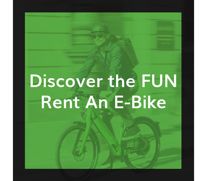 1 Week E-Bike Rental