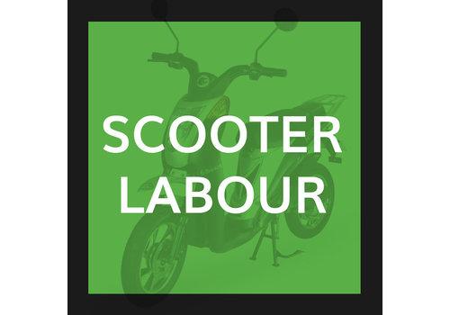 Rear Flat Repair (Scooter Wheel Tubeless)