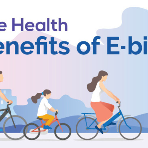 Surprising (Or not so surprising) Health Benefits Of Electric Pedal Bikes