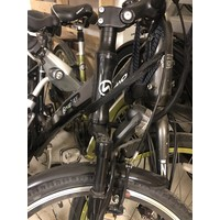 A2B F4W Ride Black 350W - Broken. Missing Battery, Controller.  Parts Bike. New Components.