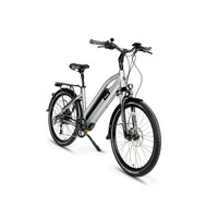 "Amego Infinite Step-Through Space Grey 26"" (Mechanical Disc Brakes)"