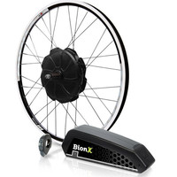 BionX Kit, P350 DL, Black Rim & Spokes