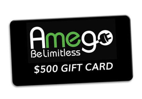 Amego $500 Amego Gift Card