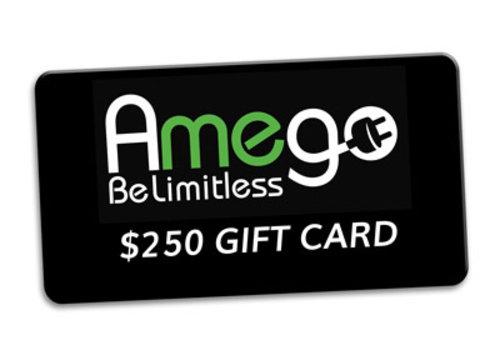 Amego $250 Amego Gift Card