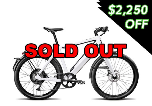 "Stromer Stromer ST2 20"" White (Special Buy) (SOLD OUT)"