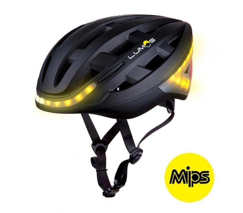 Lumos Kickstart Helmet Charcoal Black - MIPS