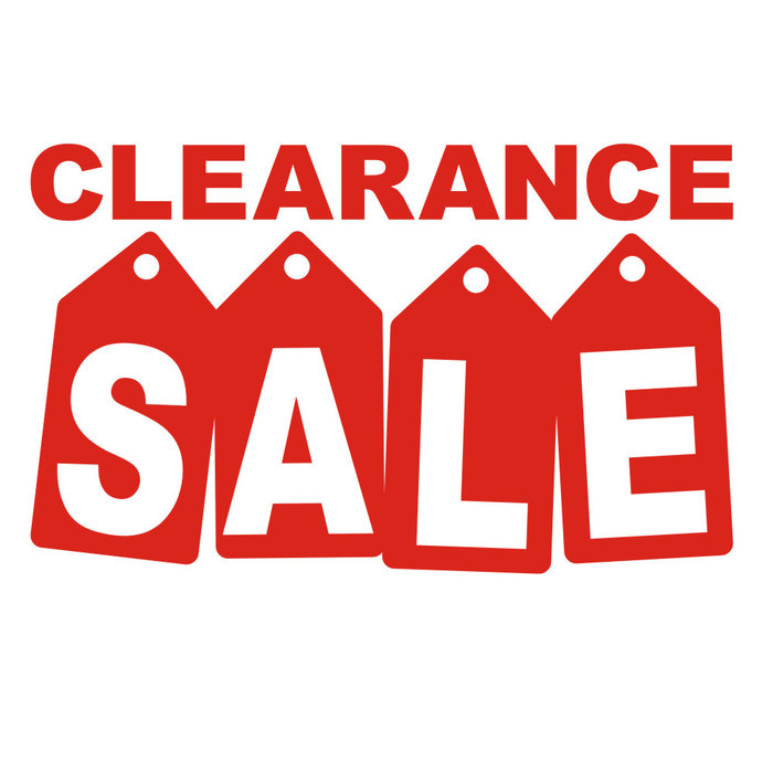 SALE & Clear Out