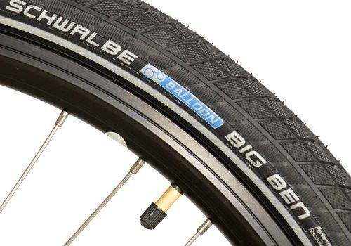 Schwalbe Schwalbe, Big Ben, Tire, 27.5''x2.00, Wire, Clincher, SBC, KevlarGuard, 50TPI, Black