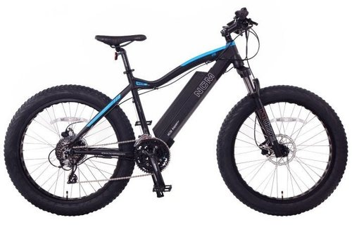 NCM 2020 NCM Aspen 'Plus' Electric Fat Bike (Suspension Fork)